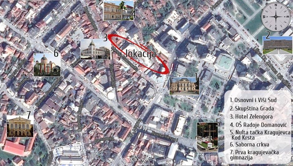 O Lokaciji Kragujevac Promogradnja